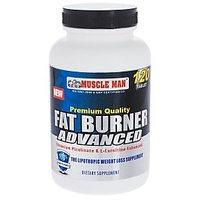 Fat Burner Advanced - Fat Burner / Promotes Weight Loss - 120 Tablets