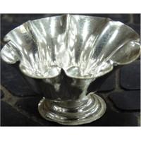 White Metal Chandan Cup