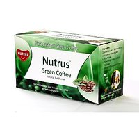 Nutrus Green Coffee  20 Sachets  Natural Fat Burner With Probiotics Pack Of 4