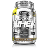 Muscle Tech Essential Series Platinum 100%  Whey Vanilla Cake 2 Lbs