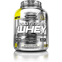 Muscle Tech Essential Series Platinum 100%  Whey Cookies And Cream 5 Lbs