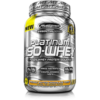 Muscle Tech Essential Series Platinum 100% Iso Whey Vanilla Ice Cream 1.8lb