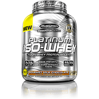 Muscle Tech Essential Series Platinum 100% Iso Whey Gourmet Milk Chocolate 3.34lb
