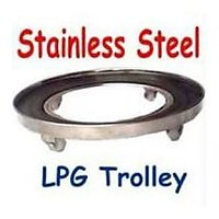 SARAH Stainless Steel LPG Cylinder Trolley - GT-101