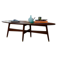 Afydecor Coffee Table With Laminate Finish In Brown