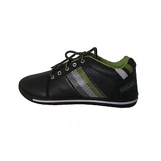 Big-Hopp Khiladi Black & Green Casual Shoes