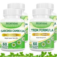 Garcinia Cambogia Trim Formula  For Weight Loss Supplement (Pack Of 4)  MORPH250