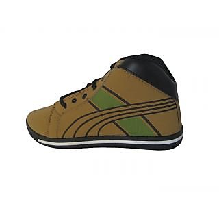 Big-Hopp Rockmen Black & Yellow Casual Shoes