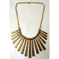 Golden Metal Tilli Necklace