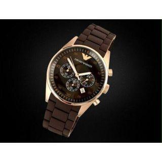 Emporio  Imported Brown Watch For Men Replica