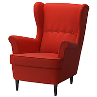 Afydecor Contemporary Accent Chairs In Red