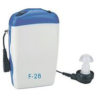 Axon Pocket Hearing Aid F-28 With AA Rechargeable Battery Telephone Funtion