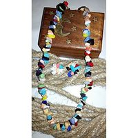 Multi Colour Stone Necklace Set By Handikart