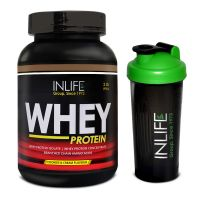 INLIFE Whey Protein 2Lb Cookies And Cream Flavour With Free Shaker