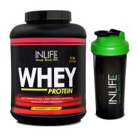 INLIFE Whey Protein 5Lb Strawberry Flavour With Free Shaker