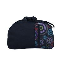 400426 Black N Multi-Color Luggage & Travel Bag