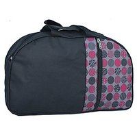 Needbags 400426 Black And Multi-Color Luggage & Travel Bag