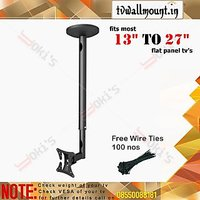 """Imported  Yoki's Ceiling Mount  For Most 13""""-27"""" LED, LCD Flat Panel TVs"""