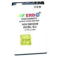 ERD Nokia Compatible Battery NOKIA 5800 XM HCBL-5J 1000 MAh