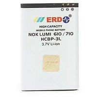 ERD Nokia Compatible Battery Nokia Lumia 610/710 HCBL-3L 1000 MAh - 74218842