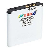 ERD Nokia Compatible Battery Nokia N73 HCBL-6M  1000 MAh
