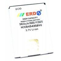 ERD Samsung Compatible Battery Samsung Galaxy Ace S5830 HCEB494358VU 1150 MAh