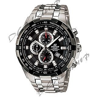 CASIO EDIFICE EF - 539 D -AV, Black Dial, Steel Chronograph Men Watch