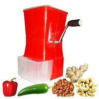 Ultimate : The Best Chilly, Vegetable And Nut Cutter With Stainless Steel Blades - 74228156