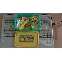 Kids Small Lunch Box (Green, Pink, Yellow, White)