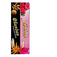 Chandan Or Gulab Combo Pack Of 12 ( In High Quality Flavours )