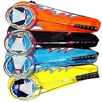 Badminton Racket With Cock Shuttle - 74234212