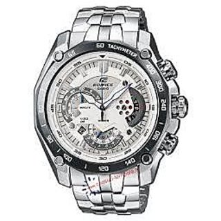 Casio Edifice 550 White Redbull Edition Watch For Men's With Box &1Year Warranty