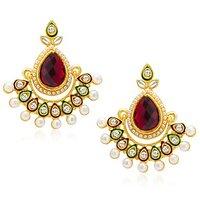 Sukkhi Royal Gold Plated Earring For Women