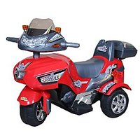 Hum Tum Electronic Ride-On Police Motorbike (Red)