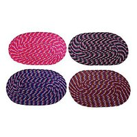 Home Passion Oval Design Cotton Door Mat - Pack Of 4