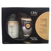 Olay Total Effect 7 In 1 Day Cream Gentle Spf 15 With Free Cleanser