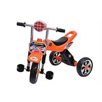 Happy Kids Tricycle With Lights And Music (Orange)