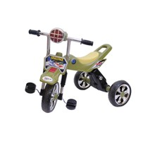 Happy Kids Tricycle With Lights And Music (Green)