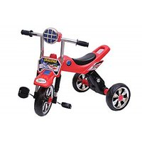 Happy Kids Tricycle With Lights And Music (Red)