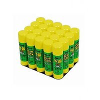 Amos 15 Gms Glue Stick Wholesale Pack - Set Of 20 Pieces