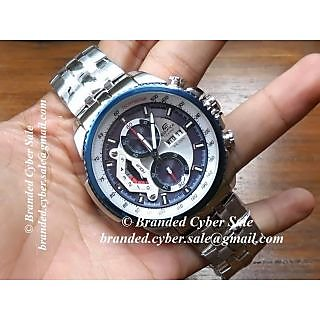 CASIO EDIFICE EF-558D-2AVDF CHRONOGRAPH MENS WATCH WITH BOX