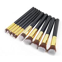 Make-Up Brushes ( Set Of 10 Brsuhes )