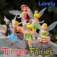 Cute Adorable Tinker Bell Fairy Good Quality Action Figures Tinkerbell Fairies
