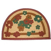 Semi Circle Floor Mat 1