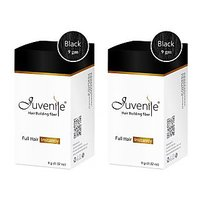 Juvenile Hair Building Fiber Combo Pack Of Two Black 9gm
