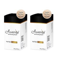 Juvenile Hair Building Fiber Combo Pack Of Two Light Brown 25gm