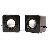 Laptop Speaker 5 Watt Multi Media USB Powered 2.0 Multimedia Speakers - T4CA19