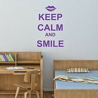 DeStudio Keep Calm And Smile One Size (60cms X 60cms)