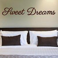 DeStudio Sweet Dreams Wall Sticker Children Dreams Sleep Wallart Home Size (45cms X 60cms)