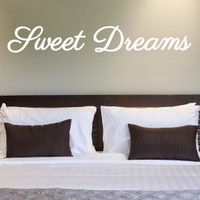 DeStudio Sweet Dreams Wall Sticker Children Dreams Sleep Wallart Vinyl Size (45cms X 60cms)